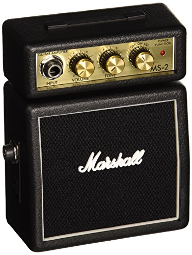 Marshall MS-2 Micro Amp Mini amplificateur 2 Watts pour ...